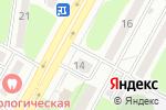 Схема проезда до компании Ирис в Усть-Каменогорске