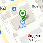 Местоположение компании Универсам удачных покупок