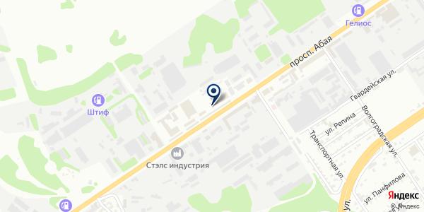 АкваМастерСтоляр на карте Усть-Каменогорске