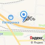 Отличник на карте Новосибирска