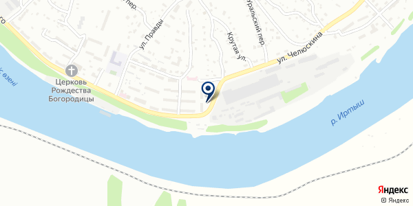 Агентство теплоходных прогулок на карте Усть-Каменогорске