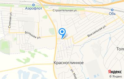 Местоположение на карте пункта техосмотра по адресу Новосибирская обл, г Обь, ул Линейная, д 121