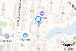 Сдается двухкомнатная квартира в Оби ул. Военный Городок, 120