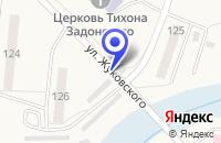 Схема проезда до компании ВОЙСКОВАЯ ЧАСТЬ № 58133 в Оби