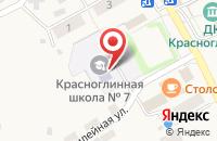 Схема проезда до компании Основная общеобразовательная школа №7 в Красноглинном