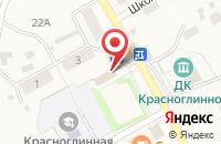 Схема проезда до компании Толмачёвское в Красноглинном