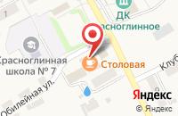 Схема проезда до компании ТПК Виаком в Красноглинном