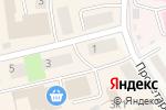 Схема проезда до компании Киоск по продаже хлебобулочных изделий в Оби