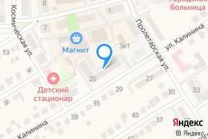 Двухкомнатная квартира в Оби Новосибирская область, улица Калинина, 20