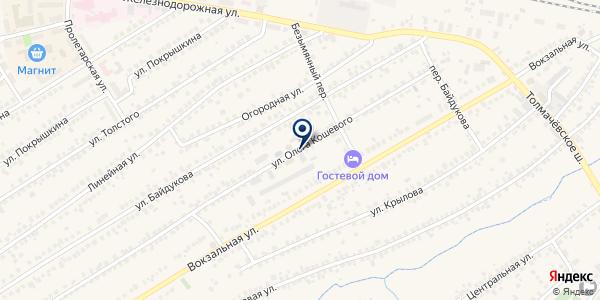 Центр-ОбьСЭС, АНО на карте Оби