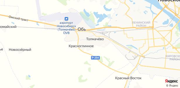 Толмачево на карте