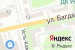 Схема проезда до компании Алма-Фарма, ТОО в Усть-Каменогорске