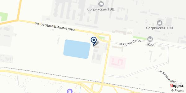 Титан на карте Усть-Каменогорске
