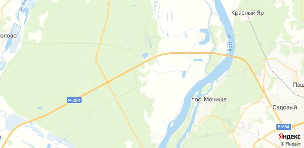 Катковский на карте