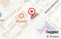 Схема проезда до компании Русь в Алейске