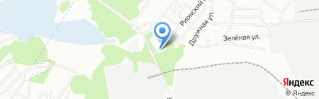 Привал на карте Новосибирска