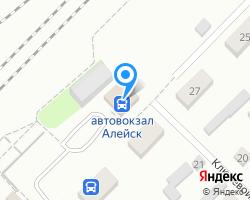 Схема местоположения почтового отделения 658131