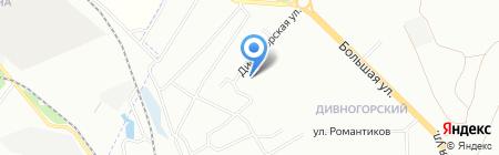 Агат-Стройторг на карте Новосибирска