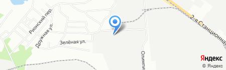 Дилл на карте Новосибирска
