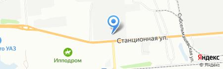 Склад.Ру-Сибирь на карте Новосибирска