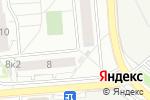 Схема проезда до компании Киоск по ремонту обуви в Новосибирске