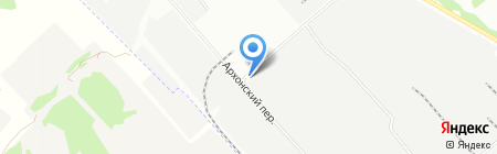 Зевс на карте Новосибирска