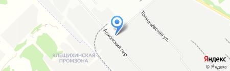 Ваш дом-работа на карте Новосибирска