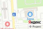 Схема проезда до компании Инской в Новосибирске