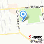 Хлебное место на карте Новосибирска