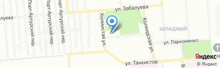 Ермолинские полуфабрикаты на карте Новосибирска