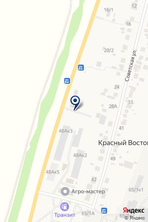 Шиномонтажная мастерская на Советской на карте 8 Марта