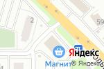 Схема проезда до компании КИВИ в Новосибирске