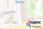 Схема проезда до компании Все для сада и огорода в Новосибирске