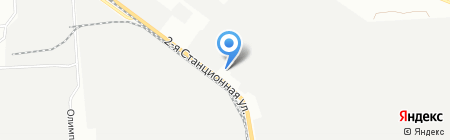 КСМ на карте Новосибирска