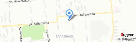 Детский сад №203 Радужка на карте Новосибирска