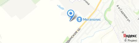 Галеон на карте Новосибирска