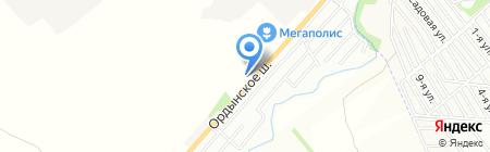 Трак Эмпайр на карте Новосибирска