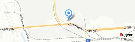 Пенсионер на карте Новосибирска