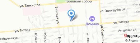 Имидж на карте Новосибирска