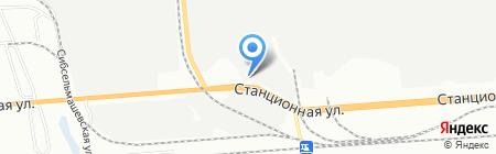 Феникс-М на карте Новосибирска