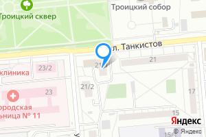Комната в двухкомнатной квартире в Новосибирске ул, Танкистов д.21/1