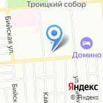 Житница на карте Новосибирска