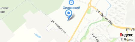 Чайхана на карте Новосибирска