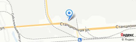 Экспосервис + ООО центр специализированного автосервиса и продажи запчастей для Ford на карте Новосибирска
