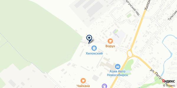 ИМИ на карте Новосибирске