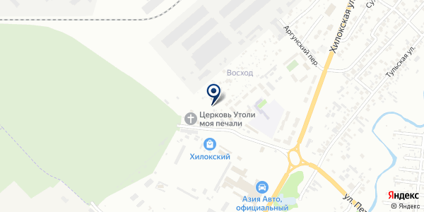 Торгово-производственная компания на карте Новосибирске