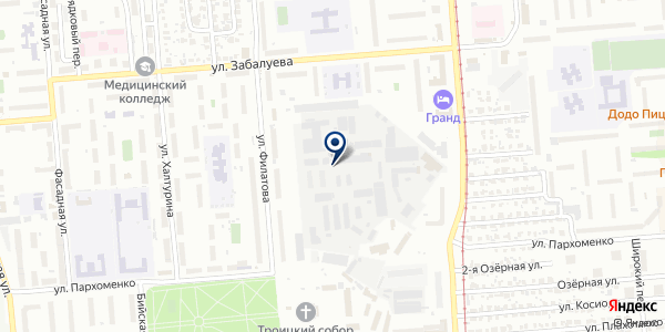 Анубис на карте Новосибирске