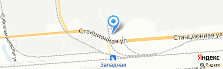ArtStone на карте Новосибирска