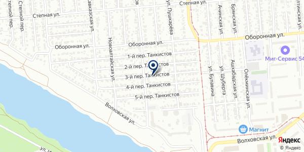 Мастер Замков на карте Новосибирске