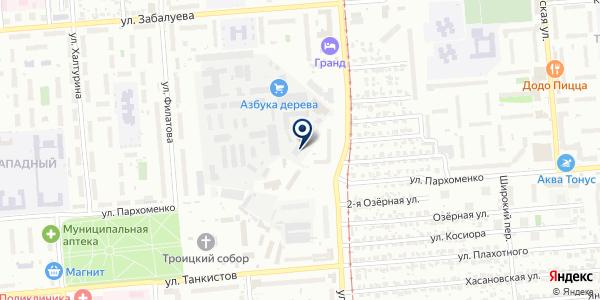 Юлианна на карте Новосибирске
